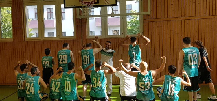 Inklusive Basketballgruppe